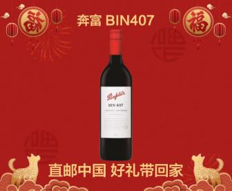【直发中国】奔富BIN407干红葡萄酒赤霞珠