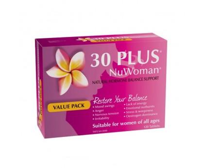 30 Plus Nu Woman 荷尔蒙平衡片 120片
