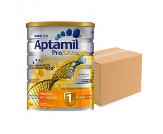 Aptamil Profutura 爱他美白金版 新生婴儿牛奶粉1段 900克x6罐