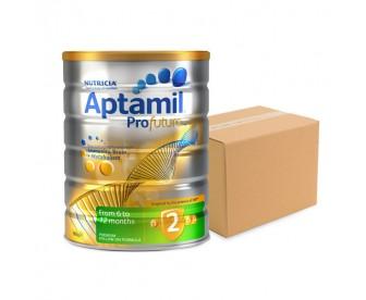 Aptamil Profutura 爱他美白金版 婴儿牛奶粉2段 900克x6罐