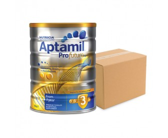 Aptamil Profutura 爱他美白金版 婴幼儿牛奶粉3段 900克x6罐
