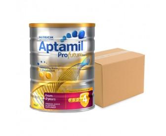 Aptamil Profutura 爱他美白金版 幼儿牛奶粉4段 900克x6罐