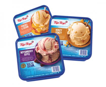 【直发中国】TipTop新西兰冰淇淋 多种口味可选 2000ml大盒装