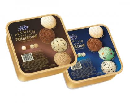 【直发中国】Much Moore 玛琪摩尔冰淇淋 四合一 大盒装 多种选择