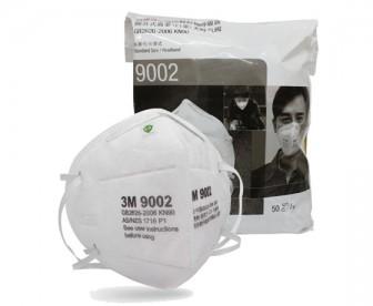 3M 9002折叠头戴式防护口罩KN90【符合纽澳标准】