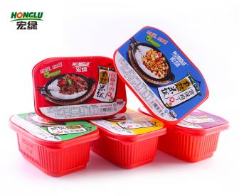 【特价9.9】宏绿自热米饭套餐(鱼香肉丝/宫保鸡丁)