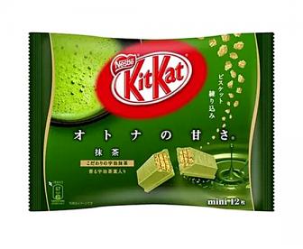 KitKat抹茶巧克力夹心威化饼 135g 12枚