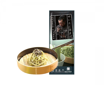 日本进口低卡抹茶荞麦面