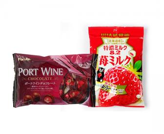 【特价15两袋】日本草莓糖巧克力任选两包特价15