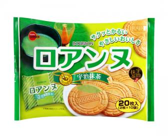 波梦露宇治抹茶法兰西饼干20枚入