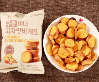 韩国三立烤面包片饼干零食