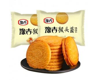 豫吉猴菇曲奇饼干网红早餐250克