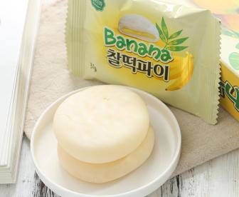 韩国禾美香蕉味打糕
