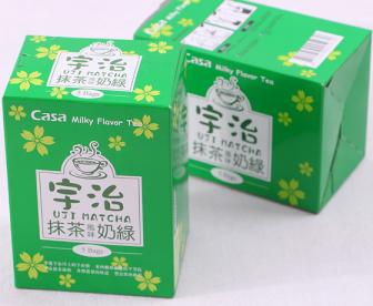 卡萨casa宇治抹茶风味奶绿速溶奶茶粉