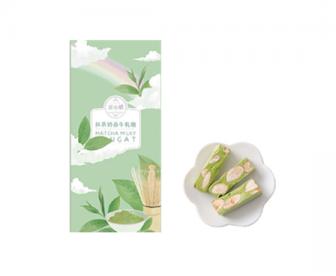 【最佳赏味期至1月8日】苏小糖 抹茶奶香牛轧糖 162克/盒 21颗