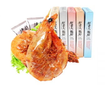 【三盒装】虾老大脆虾即食海鲜