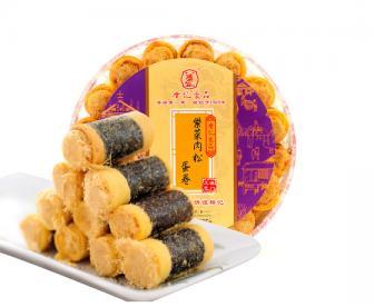 香记紫菜海苔肉松蛋卷225g