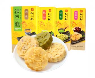 【新品到货】知味观杭州特产原味绿豆糕190g