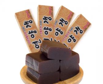 【新品预售中】韩国进口零食 海太纯羊羹55g 两盒装 休闲食品茶点 传统糕点