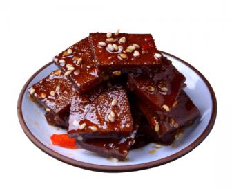 【新品】 湖南特产 麻辣豆腐干 平江香干125g(香辣味)