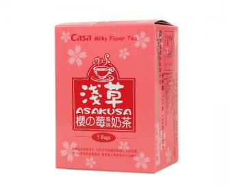 【新品】卡萨CASA京都奶茶浅草味125g