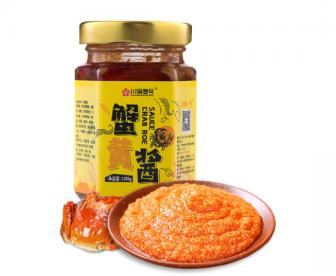 川锅壹号蟹黄酱蟹黄油120g/瓶 蟹粉拌饭中西餐