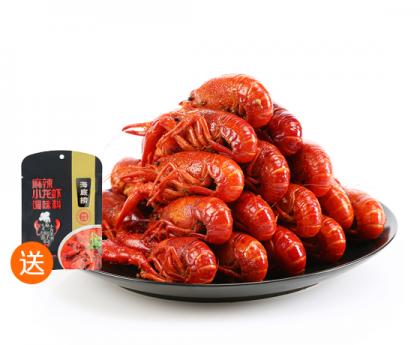 【买就送调味包一袋】 熟冻小龙虾 1公斤(16~22只)原味