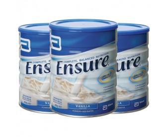 【包邮,澳洲直发】Abbott 雅培 安素成人营养配方蛋白粉/成人奶粉 850克x3罐 香草味