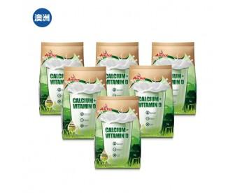 【澳洲直邮包邮】Anchor 安佳 高钙全脂成人奶粉 1公斤x6袋/箱