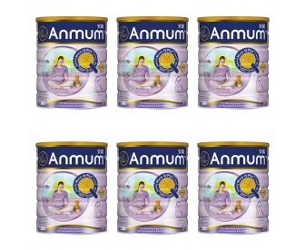 【新西兰直邮包邮】Anmum 安满 孕妇奶粉 800克x6罐/箱(港版)【奶粉订单身份证必须上传】