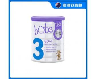 【澳洲直邮包邮】Bubs 婴儿山羊配方奶粉3段 800克/罐(1-3岁适用)