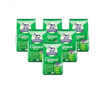 【新西兰直邮包邮】Devondale 德运 脱脂成人奶粉 1公斤x6袋/箱【奶粉订单身份证必须上传】