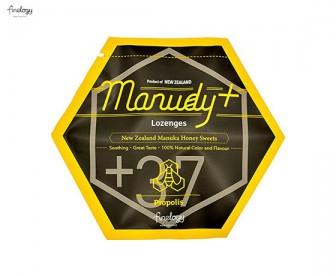 Finelogy Manudy+ 蜂蜜润喉糖 蜂胶味 100克(25粒)
