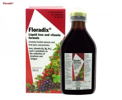 Floradix 铁元 补铁补血口服液 500毫升【每单限购1件】