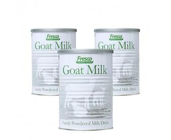 【新西兰直邮包邮】Fresco 芙思柯 成人山羊奶粉 450克x3罐/箱【奶粉订单收件人身份证必须上传】