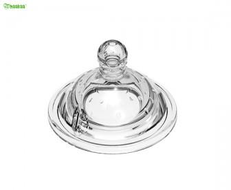 Haakaa 透明硅胶奶嘴 宽口径防胀气 2只装【6+月适用】
