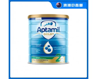 【澳洲直邮包邮】Aptamil 爱他美 金装2段 900克/罐(6-12个月适用)