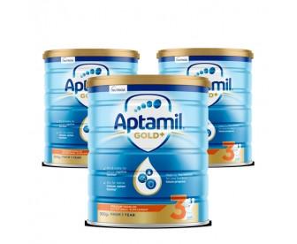【新西兰直邮包邮】Apatmil 爱他美 金装3段 900克x3罐/箱(适合12个月以上幼儿)【奶粉订单身份证必须上传】