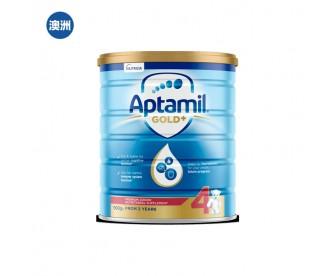 【澳洲直邮包邮】Aptamil 爱他美 金装4段 900克/罐(2岁以上适用)
