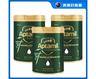 【澳洲直邮包邮】Aptamil 爱他美 奇迹绿罐 有机A2蛋白婴幼儿奶粉一段 900克x3罐【奶粉订单收件人身份证必须上传】
