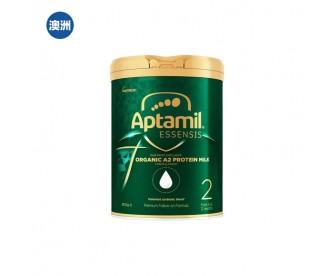 【澳洲直邮包邮】Aptamil 爱他美 奇迹绿罐 有机A2蛋白婴幼儿奶粉二段 900克/罐【奶粉订单收件人身份证必须上传】