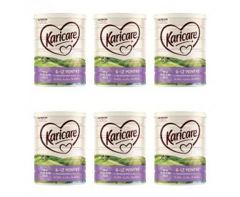 【新西兰直邮包邮】Karicare 可瑞康 婴幼儿奶粉普通装2段 900克/罐(6-12个月适用)【奶粉订单收件人身份证号必填】