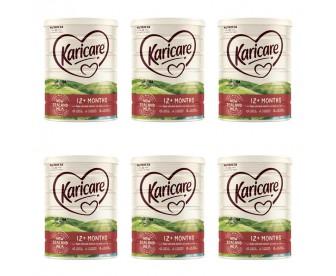 【新西兰直邮包邮】Karicare 可瑞康 婴幼儿奶粉普通装3段 900克x6罐/箱(12个月+)【奶粉订单收件人身份证号必填】