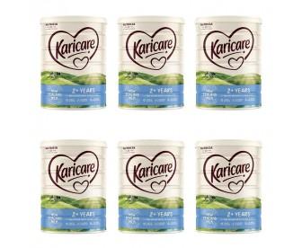 【新西兰直邮包邮】Karicare 可瑞康 婴幼儿奶粉普通装4段 900克x6罐/箱(2岁+)【奶粉订单收件人身份证号必填】