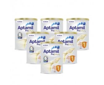 【新西兰直邮包邮】Aptamil 爱他美 白金版1段 900克x6罐/箱(0-6个月适用) 【奶粉订单收件人身份证号必填】