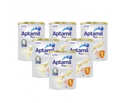 【新西兰直邮包邮】Aptamil 爱他美 白金版1段 900克x6罐/箱(0-6个月适用) 【奶粉订单收件人身份证必须上传】