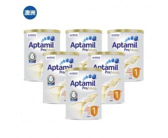 【澳洲直邮包邮】Aptamil 爱他美 白金版1段 900克x6罐/箱(0-6个月适用)