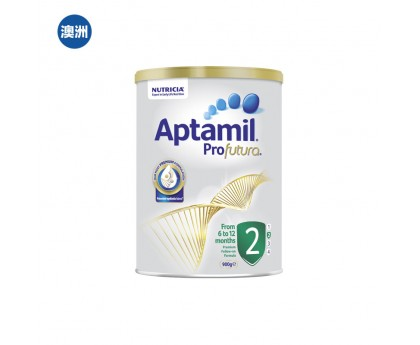 【澳洲直邮包邮】Aptamil 爱他美 白金版2段 900克/罐(6-12个月适用)