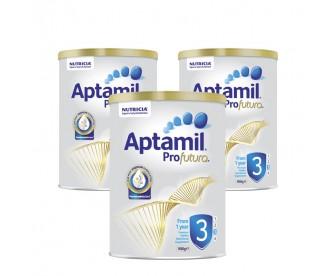 【新西兰直邮包邮】Aptamil 爱他美 白金版3段 900克x3罐/箱(1岁以上适用)【奶粉订单收件人身份证号必填】