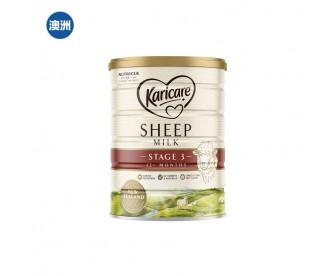 【澳洲直邮包邮】Karicare 可瑞康 绵羊奶三段 900克/罐(12个月+)